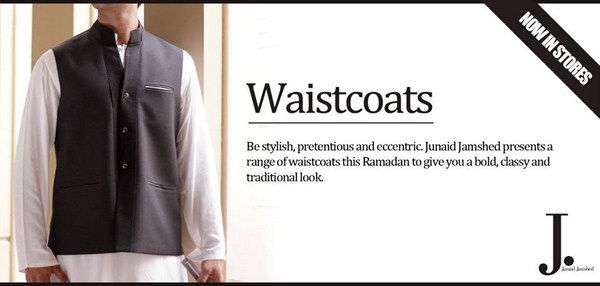 Junaid Jamshed Waistcoats Collection 2013 For Men 002