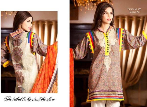 Rashid Textiles Eid Collection 2013 For Women 0011