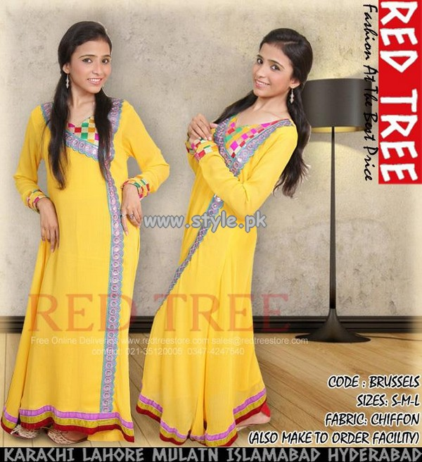 Red Tree Eid Collection 2013 Volume 2 For Women 011