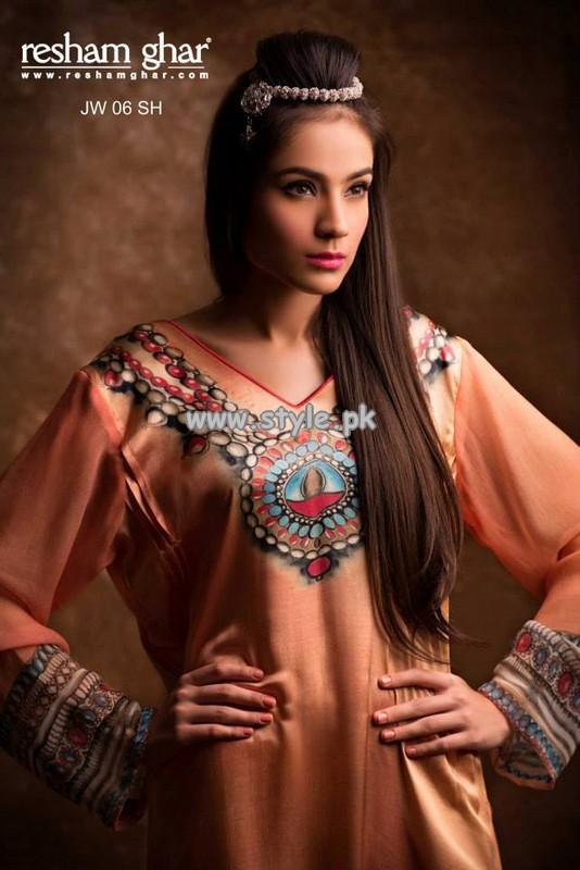 Resham Ghar Eid Collection 2013 For Girls 002