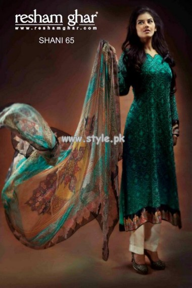 Resham Ghar Eid Dresses 2013 For Girls 002
