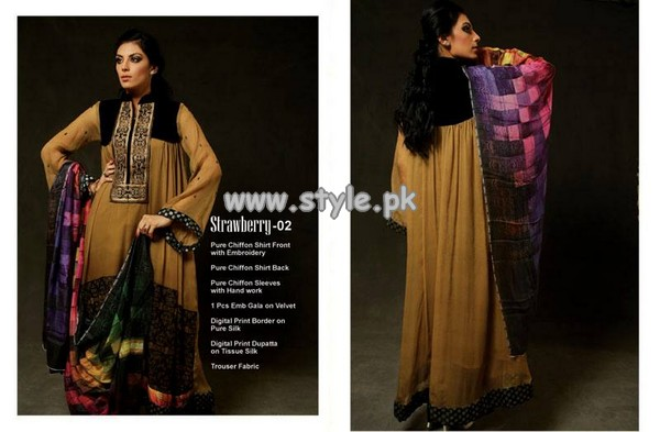 Strawberry Eid Collection 2013 For Women 008