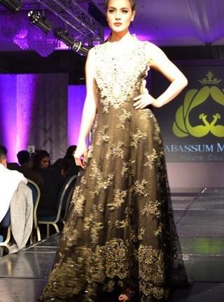 Tabassum Mughal Collection At Pakistan Fashion Week London 2013