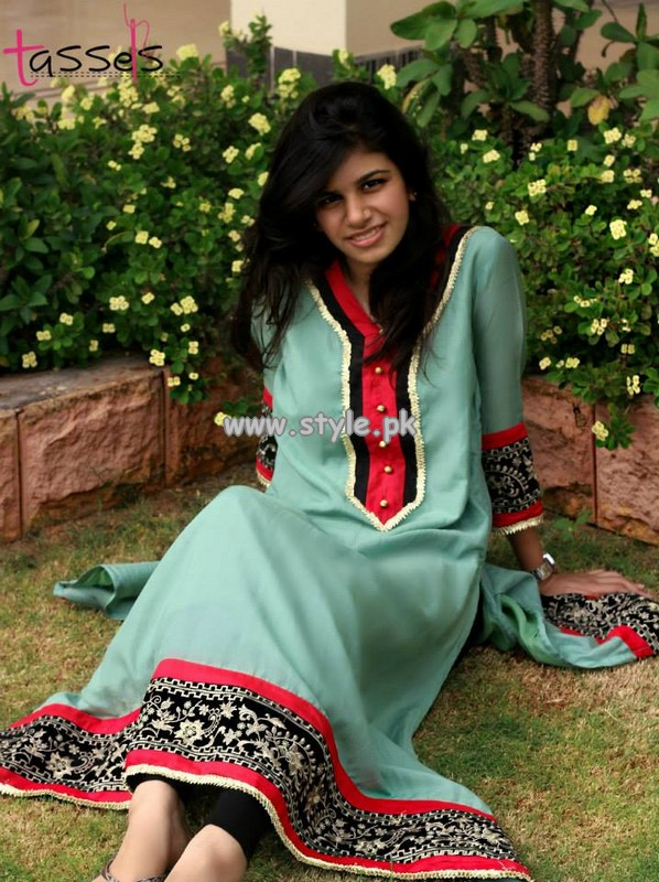 Tassels Eid Collection 2013 For Women 004