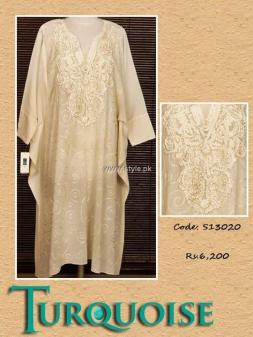 Turquoise Eid Collection 2013 for Women 007