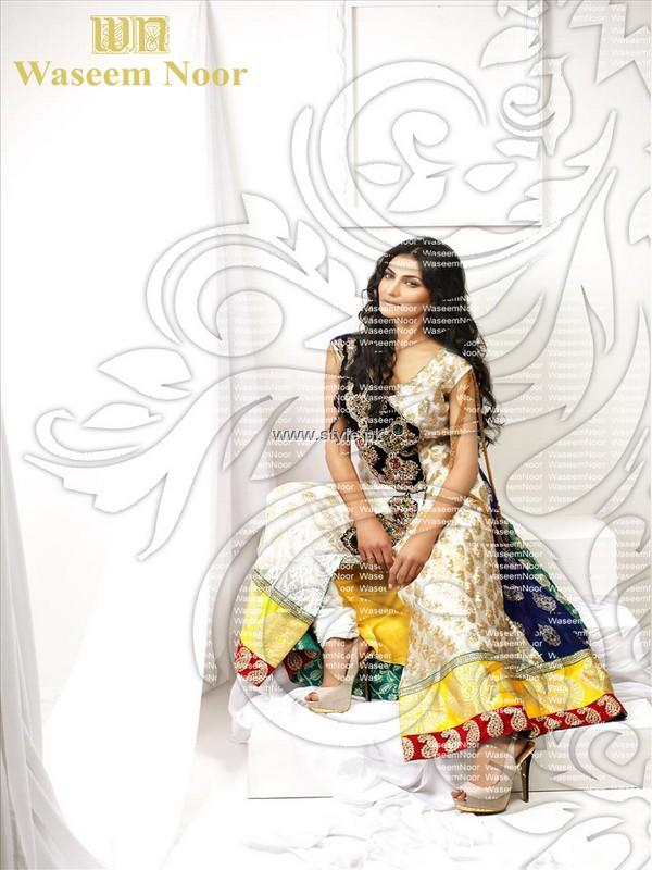 Waseem Noor Party Wear Collection 2013 for Women