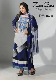 Zara Sara Collection 2013 by Dawood Lawns 004