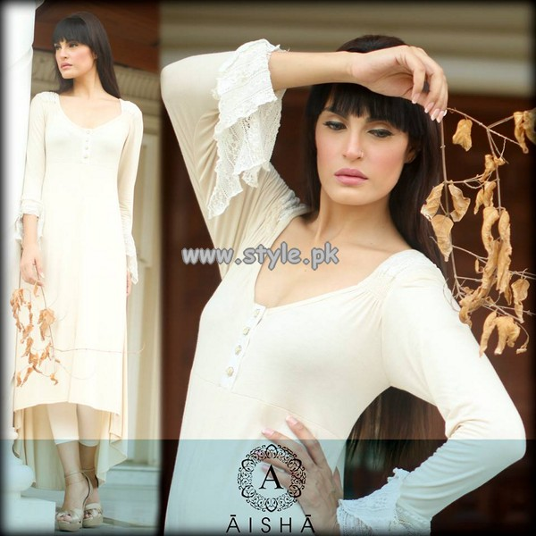Aisha Alam Party Wear Collection 2013 For Women 005