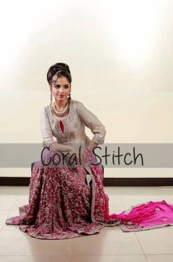 Coral Stitch Bridal And Formal Wear Collection 2013 For Women 004