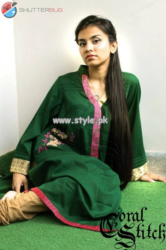 Coral Stitch Casual Wear Collection 2013 For Women 004