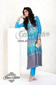 Cross Stitch Ready To Wear Collection 2013 For Women 005