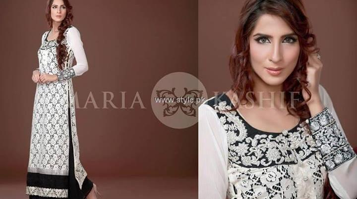 Maria Kashif Semi-Formal Wear Collection 2013 for Women