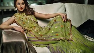 Misha Lakhani Party Wear Collection 2013 for Women