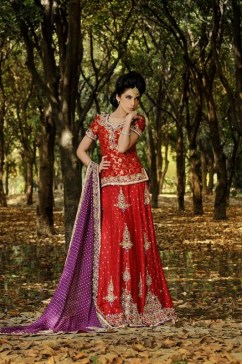 Mishaal Moazzam Bridal Wear Collection 2013 For Women 007
