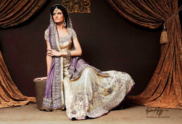 Mishaal Moazzam Bridal Wear Collection 2013 For Women 008