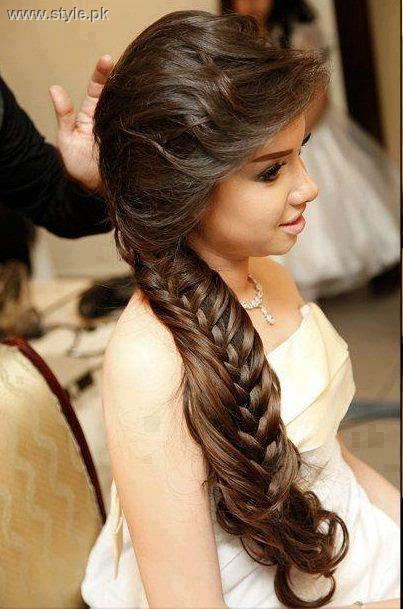 New Eid Hairstyles 2013 for Women and Girls
