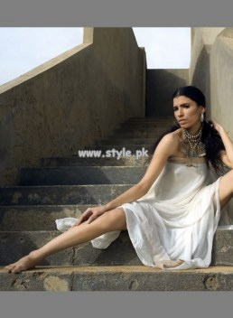 Zaheer Abbas White Collection 2013 For Summer 005