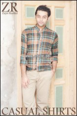 Zayn Rashid Casual Wear Shirts 2013 For Men 009