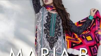 Maria B Linen Dresses 2013 for Women