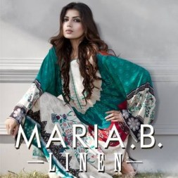 Maria B Linen Dresses 2013 for Women 003