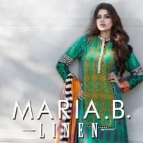 Maria B Linen Dresses 2013 for Women 005
