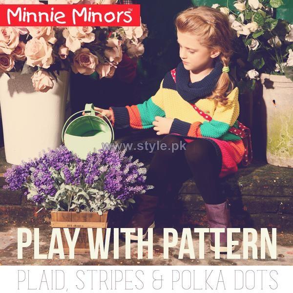 Minnie Minors Kids Wear Dresses 2013 For Fall Winter6