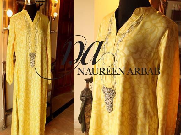 Naureen Arbab Winter Dresses 2013 For Women 005