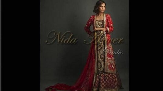 Nida Azwer Bridal Wear Collection 2013 for Women