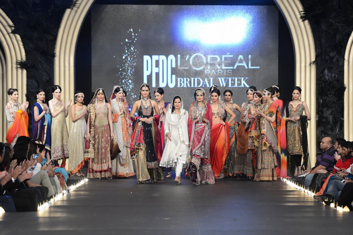 SAAI Bridal Collection At PFDC LOreal Paris Bridal Week 2013 001