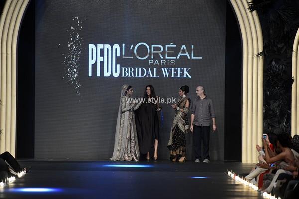 Sana Safinaz Bridal Dresses 2013 at PFDC L'Oreal Paris Bridal Week