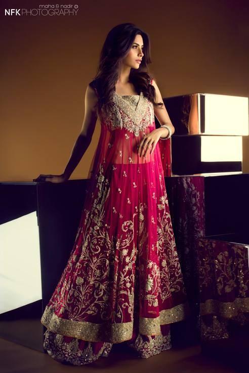 Sania Maskatiya Bridal Dresses 2013 For Women 003