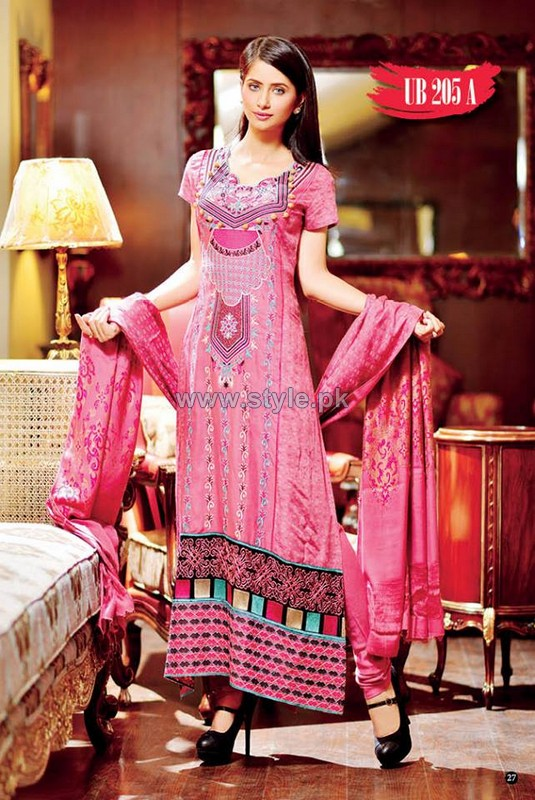 Shaista Cloths Winter Dresses 2013 For Women8