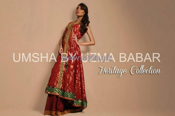 Umsha by Uzma Babar Heritage Collection 2013 For Women11