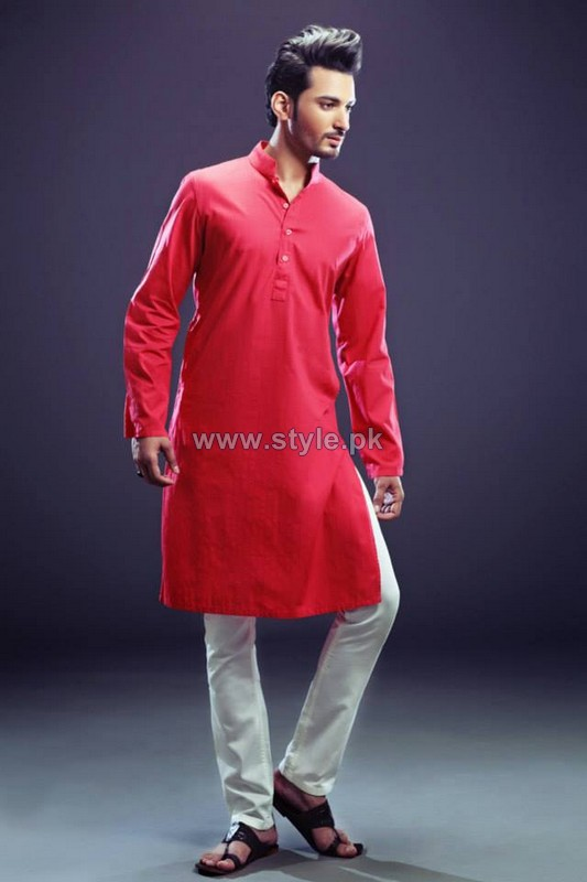 Yellow Menwear Collection 2013 For Eid4