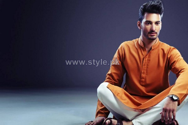 Yellow Menwear Collection 2013 For Eid7