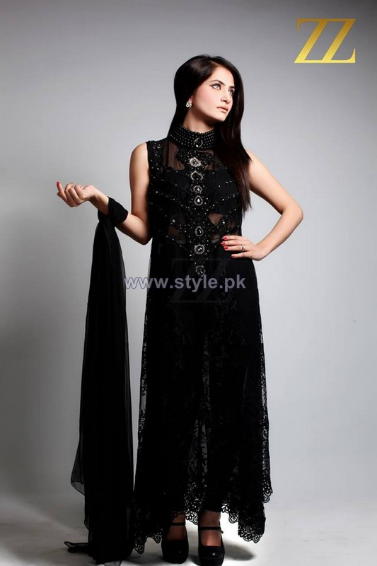 ZZ Embroidered Dresses 2013 For Girls3