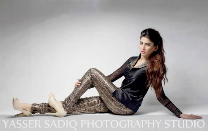 Aamir Baig Party Dresses 2013-2014 For Women
