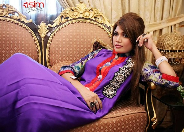 Aneesa Unus Winter Dresses 2013-2014 For Women 003