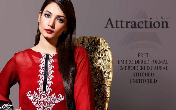 Attraction By Kamal Winter Dresses 2013 For Women 006