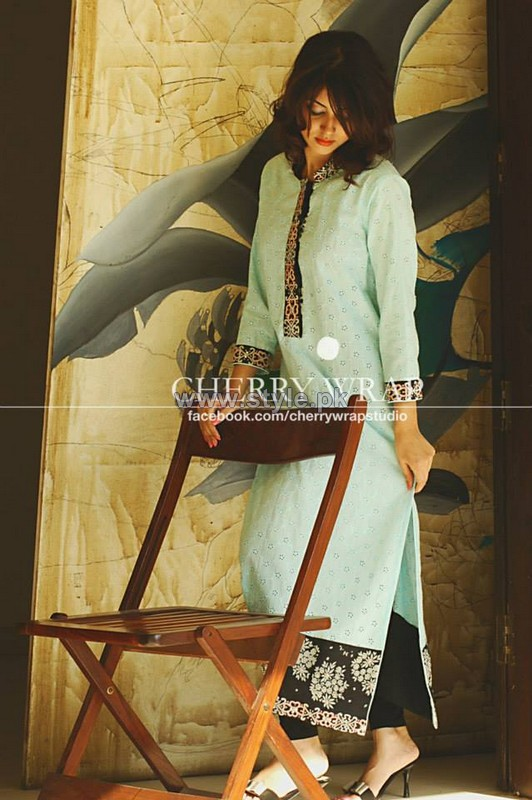 Cherry Wrap Winter Clothes 2013-2014 For Women 10