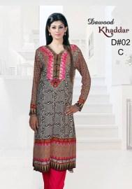 Dawood Textiles Khaddar Dresses 2013 For Women 0013