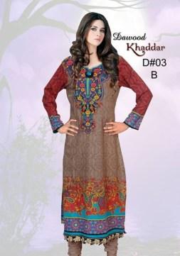Dawood Textiles Khaddar Dresses 2013 For Women 004