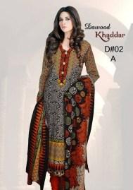 Dawood Textiles Khaddar Dresses 2013 For Women 007