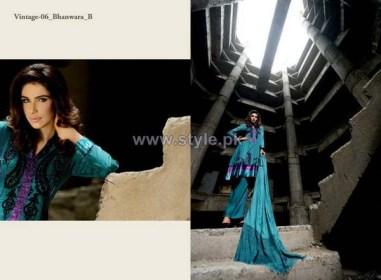 Lala Textiles Vintage Shawl Dresses 2013-2014 For Winter 2