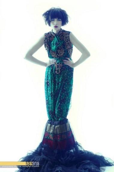 Mina Hasan Party Dresses 2013 For Women