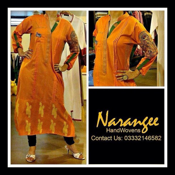 Narangee Winter Dresses 2013-2014 For Women 008