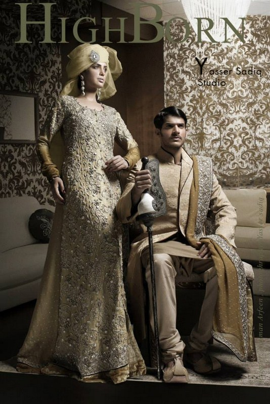 Nauman Arfeen Wedding Dresses 2013 For Men And Women 008