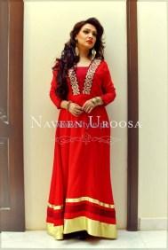 Naveen Uroosa Winter Dresses 2013-2014 For Women 5