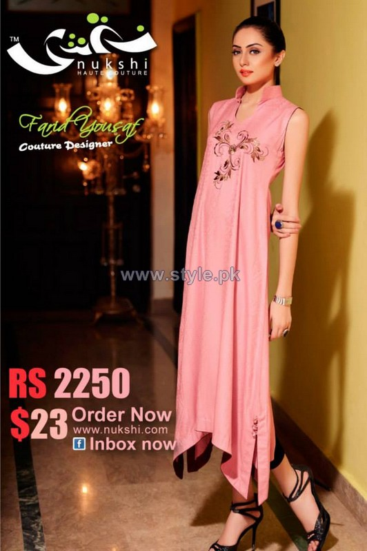 Nukshi Casual Wear Dresses 2013-2014 For Winter 3