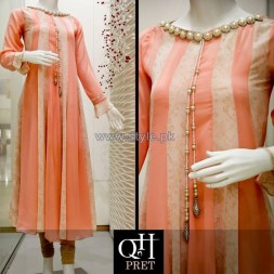 QnH Winter Long Shirt Designs 2013 For Women 5